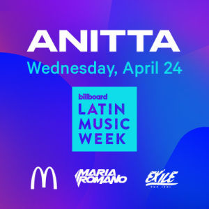 Anitta, Wednesday, April 24th, 2019