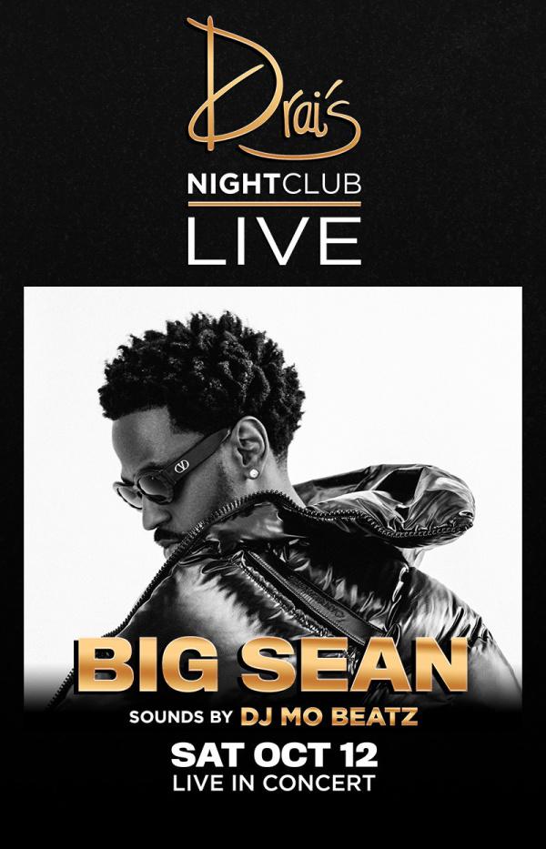 Big Sean in Las Vegas - Events, Dates & Tickets | Drai's