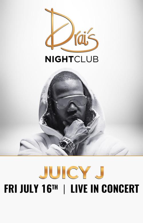 Juicy J at Drai's Nightclub thumbnail