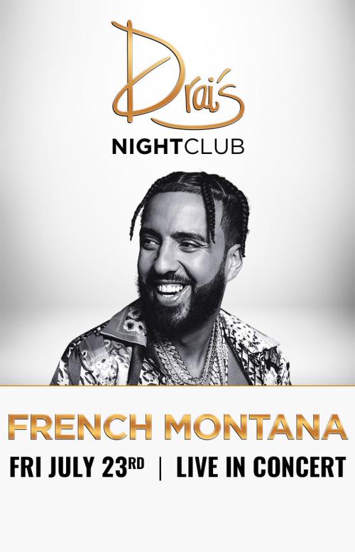 French Montana at Drai's Nightclub thumbnail