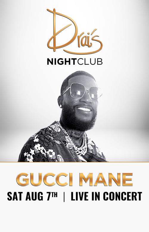 Gucci Mane at Drai's Nightclub thumbnail