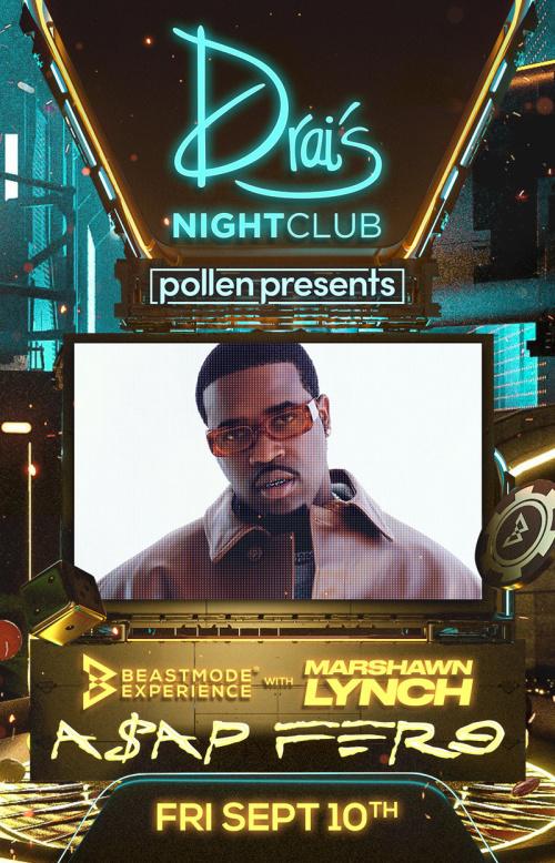 Pollen Presents: A$AP FERG at Drai's Nightclub thumbnail
