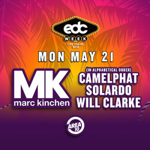 MK, Camelphat, Solardo, Will Clarke