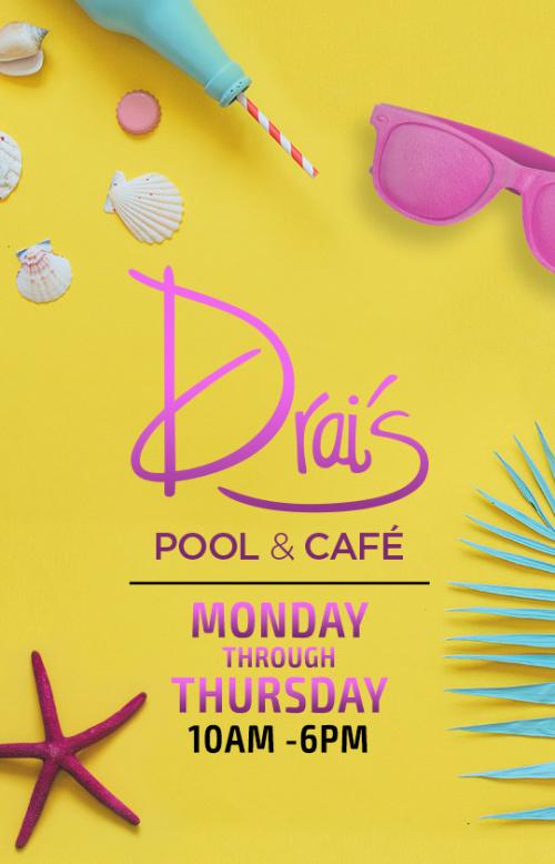 Drai's Pool & Cafe - Drai's Beach Club