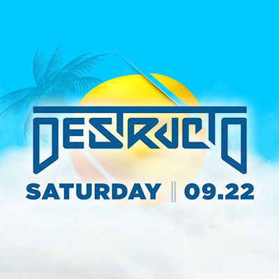 Destructo, Saturday, September 22nd, 2018