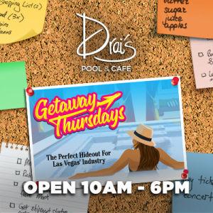 Getaway Thursdays, Thursday, September 27th, 2018