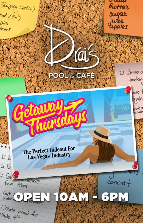Getaway Thursdays - Drai's Beachclub