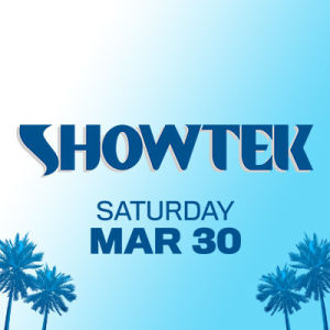 Showtek, Saturday, March 30th, 2019
