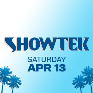 Showtek, Saturday, April 13th, 2019