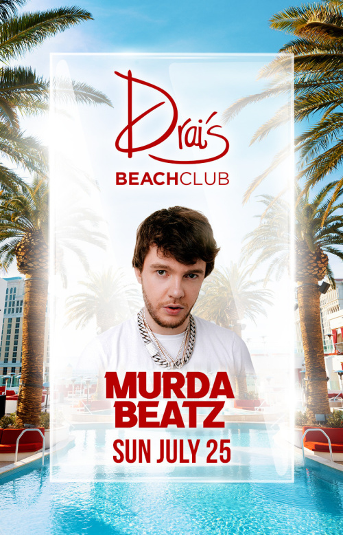 Murda Beatz at Drai's Beach Club thumbnail
