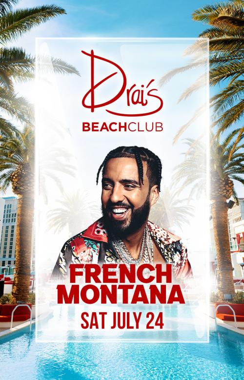 French Montana at Drai's Beach Club thumbnail