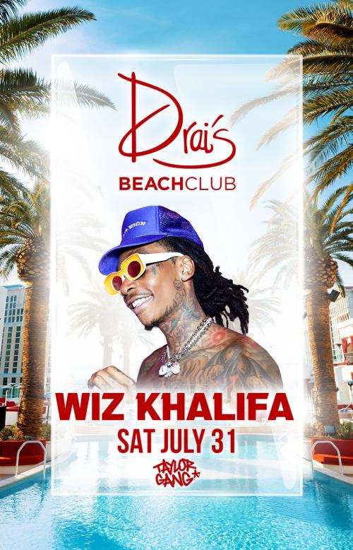 Wiz Khalifa at Drai's Beach Club thumbnail