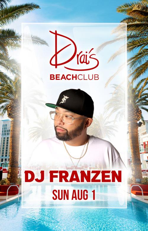 DJ Franzen at Drai's Beach Club thumbnail