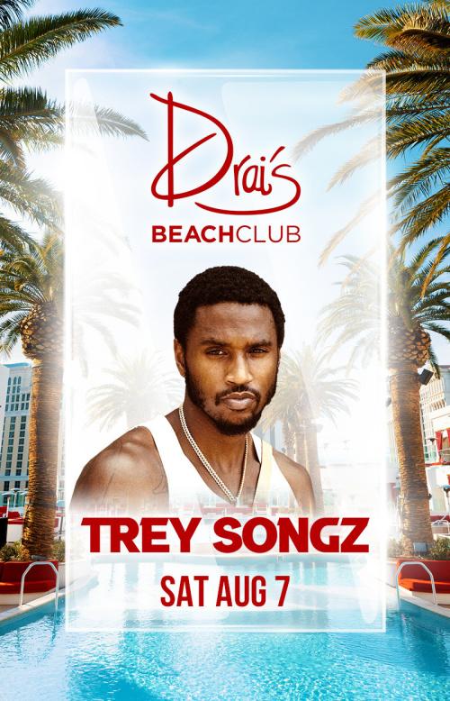 TREY SONGZ at Drai's Beach Club thumbnail