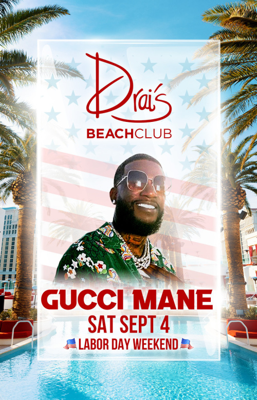 Gucci Mane at Drai's Beach Club thumbnail