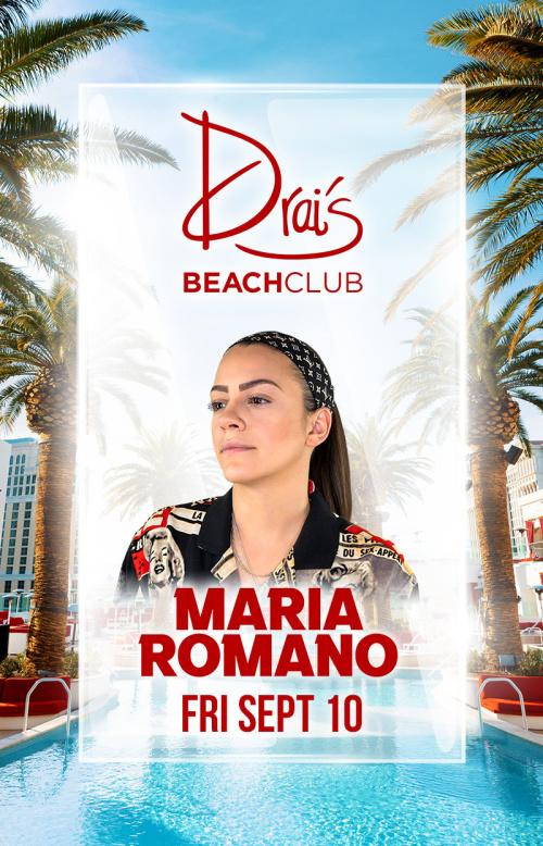 Maria Romano at Drai's Beach Club thumbnail