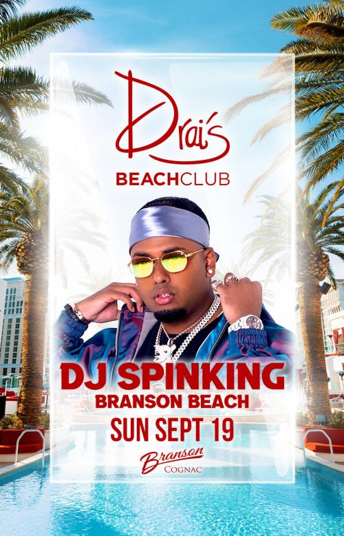 DJ Spinking at Drai's Beach Club thumbnail