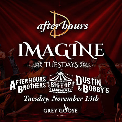 Imagine Tuesdays, Tuesday, November 13th, 2018