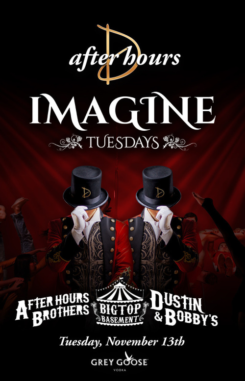 Imagine Tuesdays - Big Top Basement - Drai's After Hours