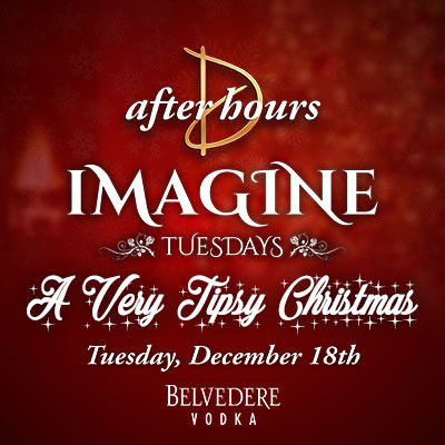 Imagine Tuesdays - A Very Tipsy Christmas, Tuesday, December 18th, 2018