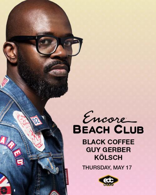 Black Coffee with support from Guy Gerber & Kölsch - Encore Beach Club