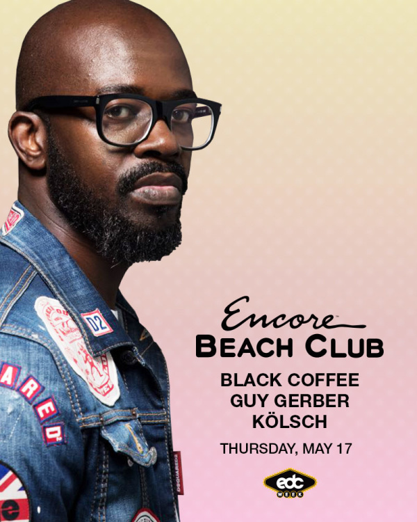 Black Coffee with support from Guy Gerber & Kölsch