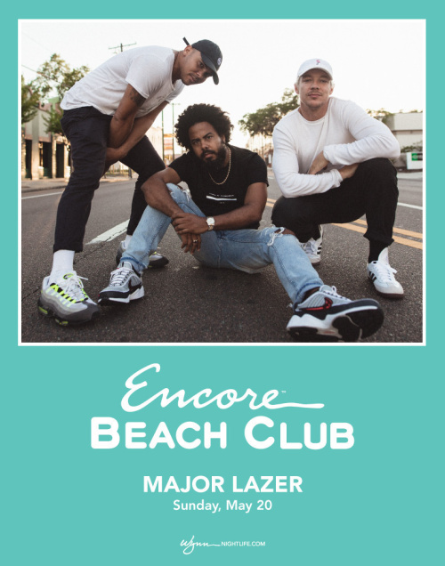 Major Lazer - Encore Beach Club