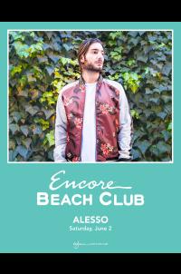 Alesso at Encore Beach Club