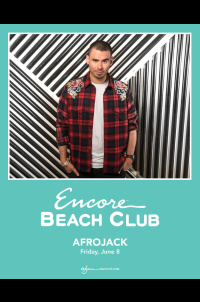 Afrojack at Encore Beach Club