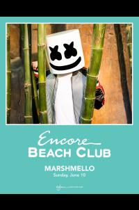 Marshmello at Encore Beach Club