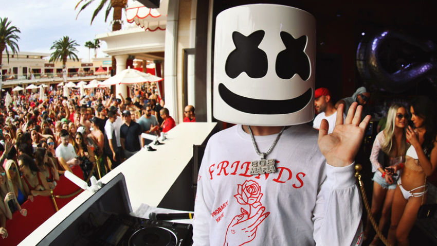 Marshmello at Encore Beach Club