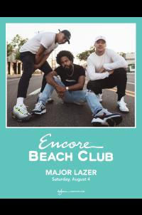 Major Lazer at Encore Beach Club
