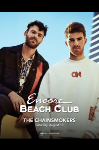 The Chainsmokers at Encore Beach Club