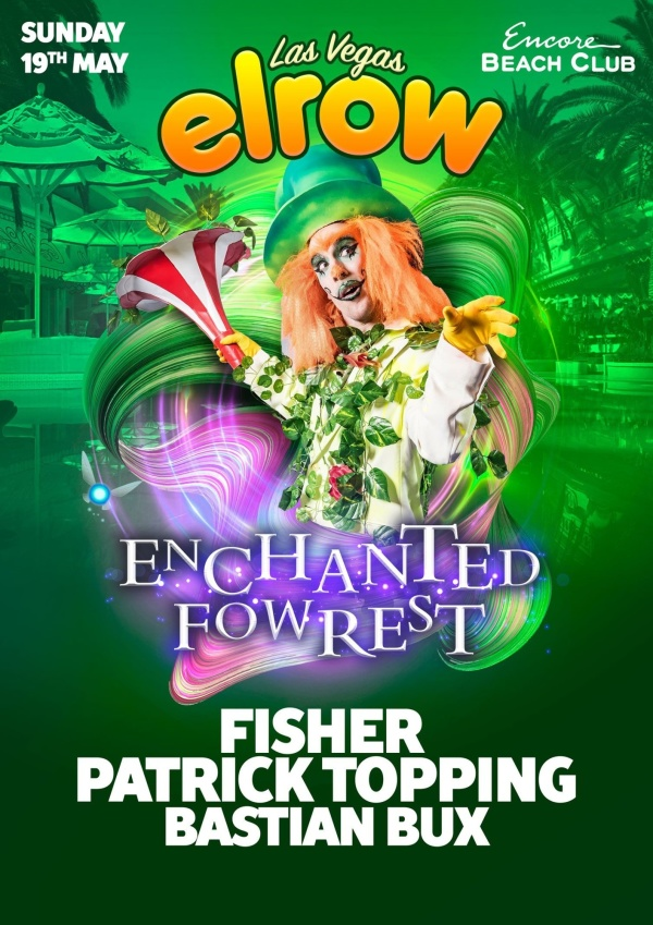 Elrow w/Fisher, Patrick Topping & Friends