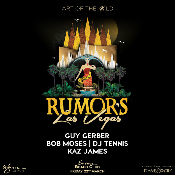 Rumors w/ Guy Gerber & Friends – Art of the Wild