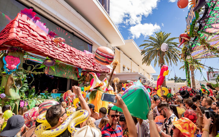elrow w/ Paco Osuna, Andrea Oliva, Bastian Bux & De La Swing at Encore Beach Club