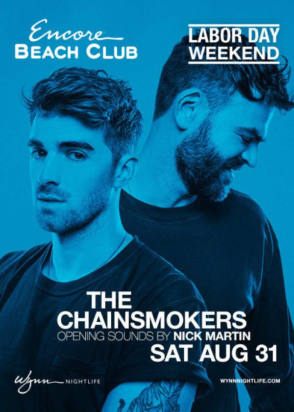 The Chainsmokers w/ Nick Martin