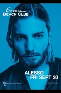 Alesso at Encore Beach Club