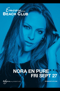 Nora En Pure at Encore Beach Club