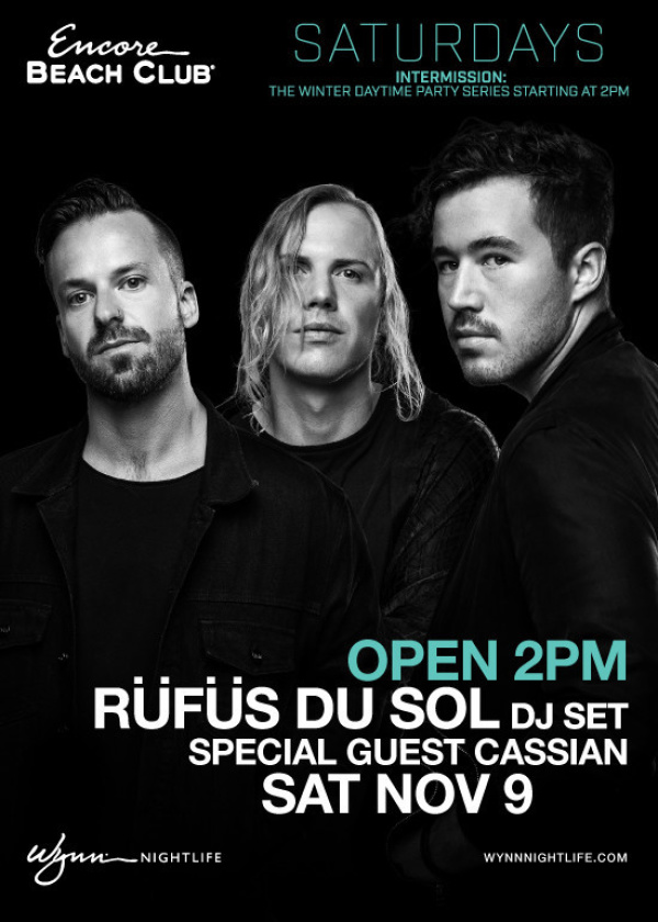 RÜFÜS DU SOL (DJ Set) with Special Guest Cassian