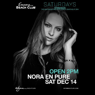 Nora En Pure, Saturday, December 14th, 2019