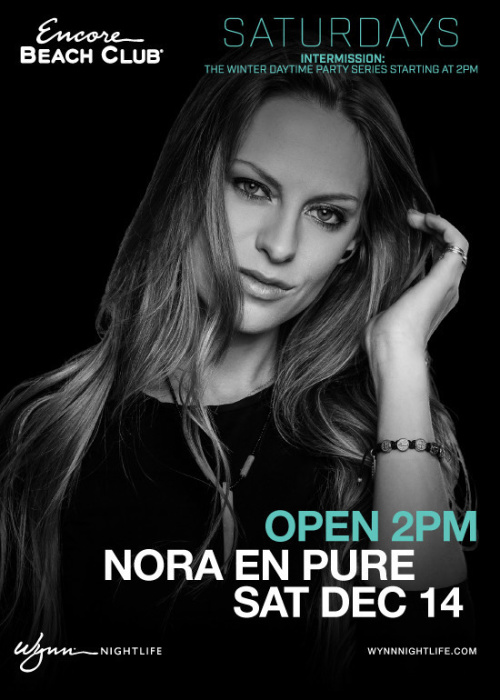 Nora En Pure - Encore Beach Club