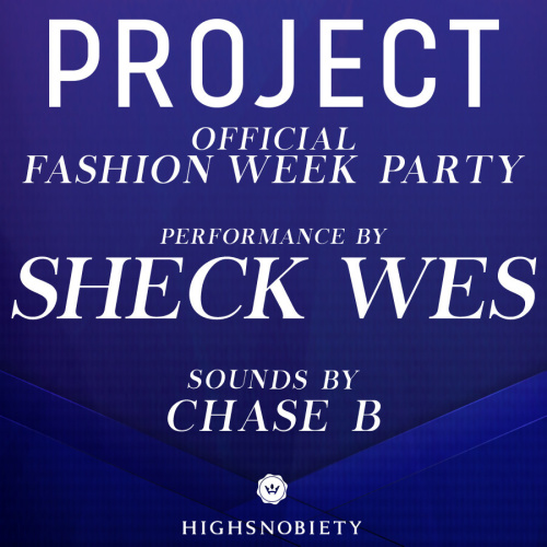 OFFICIAL PROJECT PARTY : SHECK WES w/ CHASE B - Marquee Nightclub