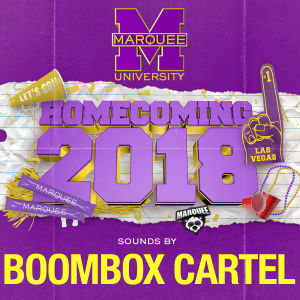 BOOMBOX CARTEL, Monday, October 8th, 2018