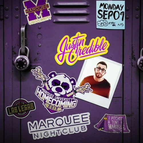 MARQUEE UNIVERSITY: HOMECOMING WITH SOUNDS BY JUSTIN CREDIBLE - Marquee Nightclub