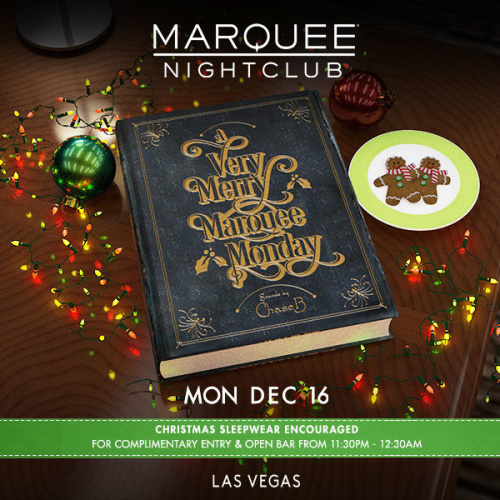 A VERY MERRY MARQUEE: CHASE B - Marquee Nightclub