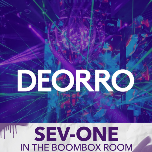 DEORRO | SEV-ONE IN THE BOOMBOX ROOM - Marquee Pool at Night