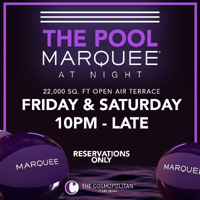 THE POOL MARQUEE AT NIGHT, Saturday, September 26th, 2020
