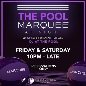 MARQUEE LOUNGE, Friday, November 6th, 2020