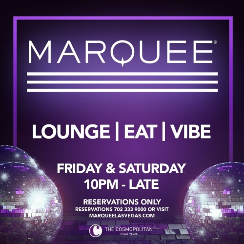 MARQUEE LOUNGE - Marquee Lounge